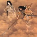Izanagi e Izanami, la creación de las islas del Japón