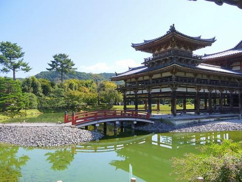 Templo Byodo-in en Uji