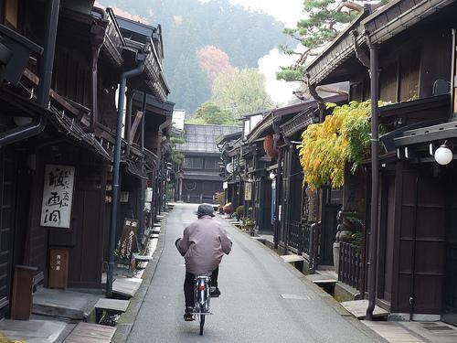 Takayama, un pueblo centenario