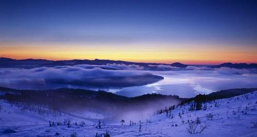 Parque Nacional Akan, en Hokkaido