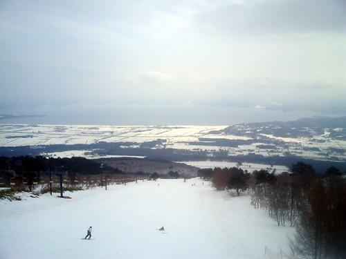Esquiar en Iwanashiro sin temor a la radiación