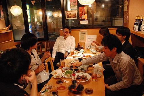 Comer y beber como un japonés en Japón