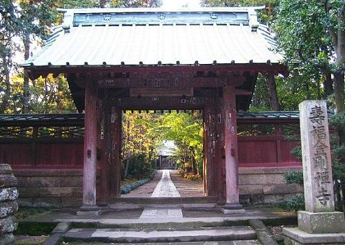 El Templo Jufukuji en Kamakura