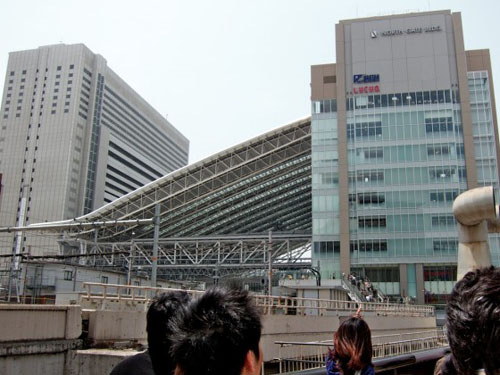 Osaka Station City, nueva estación de trenes