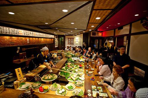 Robatayaki, restaurantes típicos japoneses