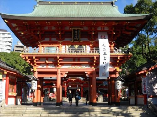 Santuario Ikuta, entre los mas antiguos de Japón