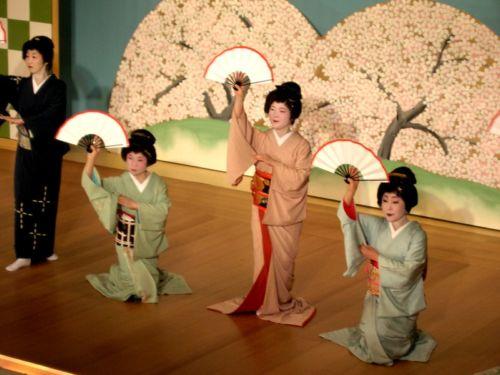 Los abanicos japoneses