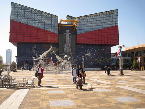 Atracciones en la bahía de Osaka