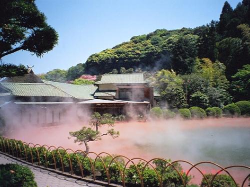 Beppu y aguas termales de colores