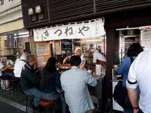 Restaurantes de comida rapida en Japon