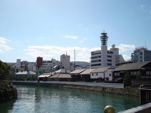La isla Dejima, rincón antiguo de Nagasaki
