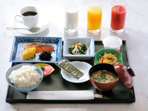 El típico desayuno japonés