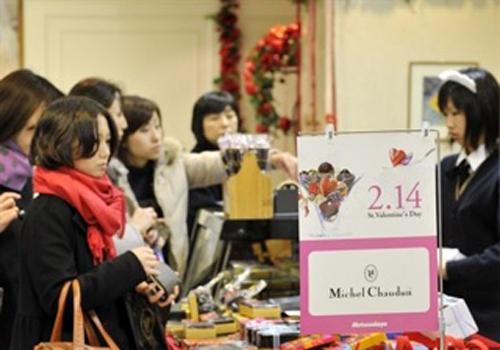 Chocolate, la estrella del San Valentín japonés