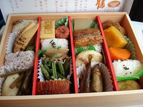 Ekiben, las cajas de comida del tren