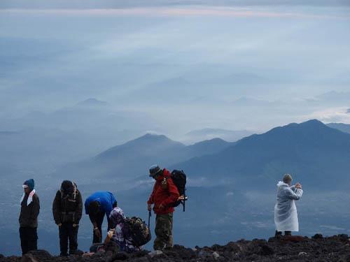escalar monte fuji