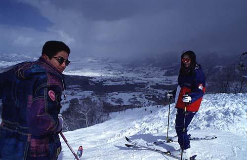 esqui en japon
