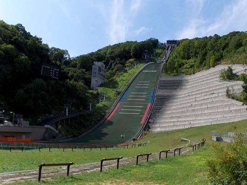 El Estadio Olímpico y el Observatorio del Monte Okura