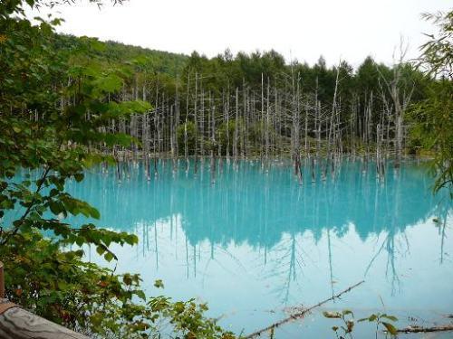 Aoiike, el estanque azul