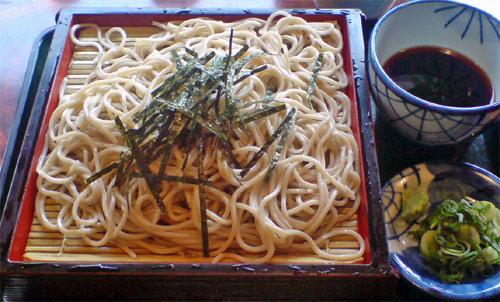 Soba, un plato japones