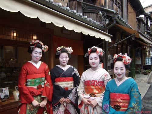 Cómo conocer una geisha en Kioto