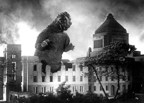 Godzilla, el hijo de la radioactividad