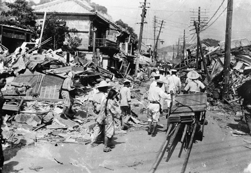 gran terremoto kanto