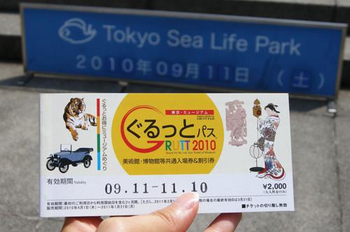 Pases de museos en Japon