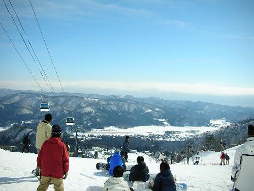 Hakuba, resort de esquí en Nagano