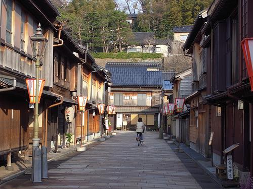 Las casas de té de Kanazawa