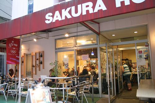 Sakura Hostel y Sakura Hotel, para mochileros