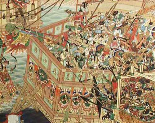 Invasion japonesa a Corea