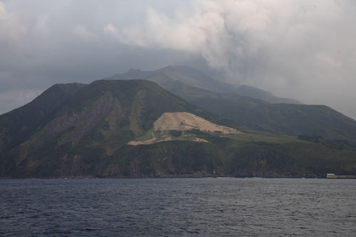 Isla Suwanose, volcanes en Japón