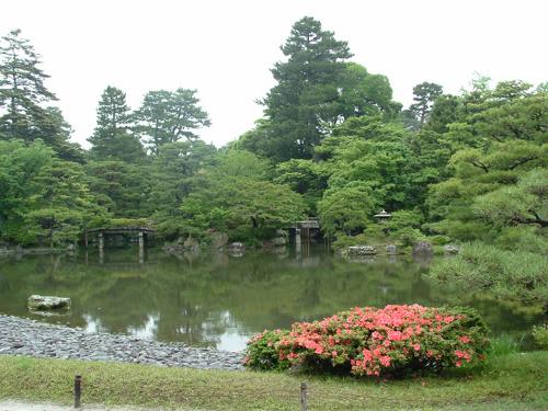 Paseando por el Parque Imperial de Kyoto