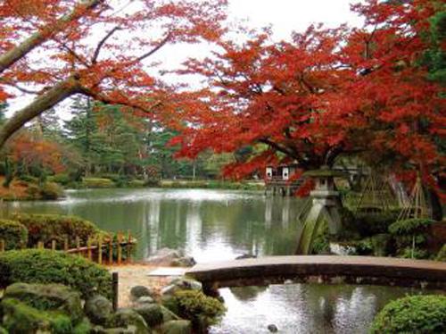 Kairakuen un jard n en mito for Jardin kenrokuen