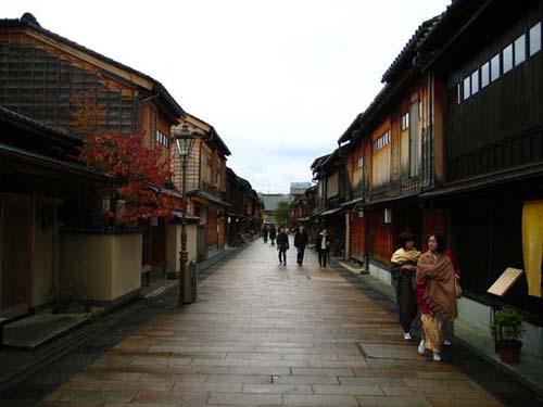 Distritos chaya de Kanazawa, ventanas al pasado