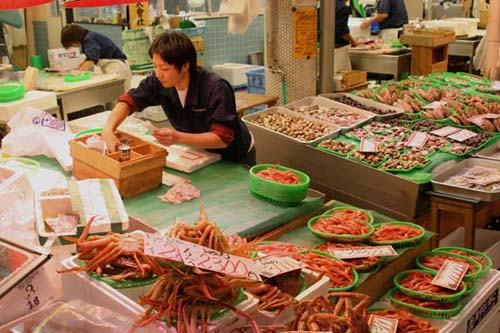 El Mercado Omicho, el mas antiguo de Kanazawa