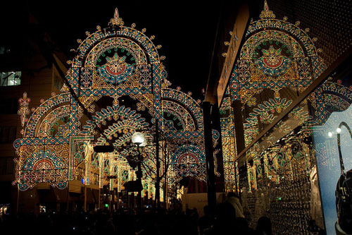 El festival de luces de Kobe