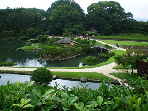 Korakuen un jard n en okayama for Jardines okayama