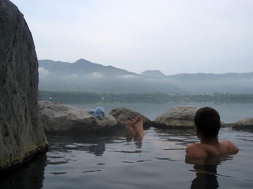 El Lago Kussharo y sus baños termales gratuitos