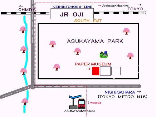 mapa museo del papel