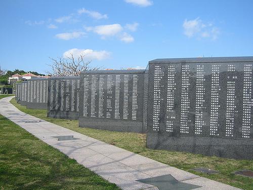 memorial de la paz en okinawa