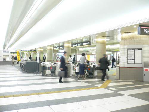 El metro de Tokyo