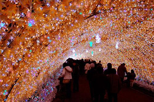 luces de navidad en tokio
