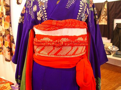 El obi, protagonista del kimono