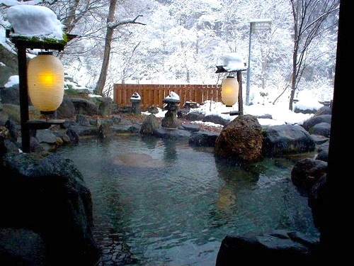 Baños Japoneses Onsen:Takaragawa onsen, escapada desde Tokio