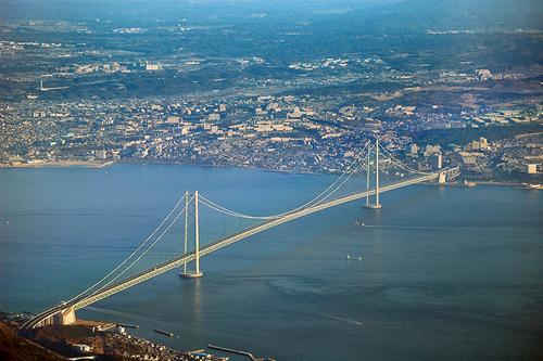 El puente Akashi-Kaikyo, otro largo puente japones