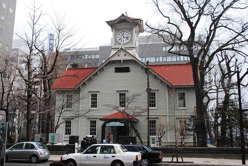 La Torre del Reloj de Sapporo