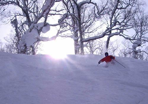 Rusutsu, esquí en Japón