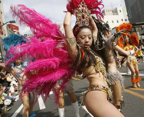 Carnaval y samba en Japón