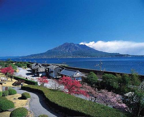El Jardín Senganen en Kagoshima